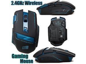 2.4GHz Wireless Optical 8D 2400DPI Actme V5 Battletech 6 Buttons Gaming Mouse