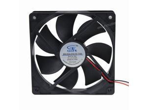 2pcs Mute PC Case Fan 24V 2Pin 8cm 80mm 80x10mm DC Brushless Cooling IDE Fan