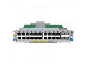HP 20-Port Gig-t PoE+/2-Port SFP+ v2 zl Module (J9536A)