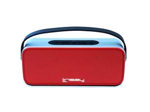 LINSAY SLH-100R ® New High end Portable Wireless Bluetooth Speaker with Microphone Rechargeable Red