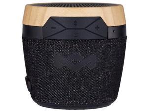 House Of Marley Chant Mini BT Bluetooth Speaker, Signature Black, EM-JA007-SB
