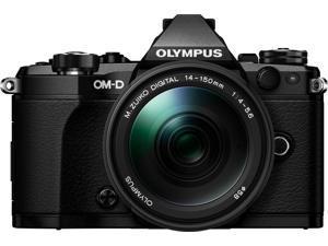Olympus OM-D E-M5 MarkII Weathersealed Kit with ED 14-150 f4.0-5.6II (Black) V207040BU040