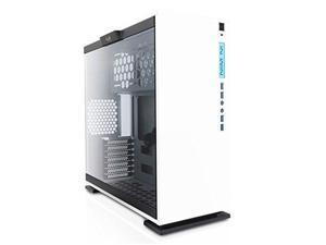 InWin 303 White ATX Mid Tower Computer Case with Tempered Glass, White