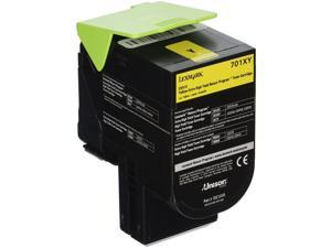 Lexmark 70C1XY0 Extra High-Yield Toner, 4000 Page-Yield, Yellow