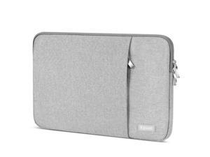 Laptop Sleeve 15.6 inch,Egiant Water Repellent Protective Fabric Notebook Bag Case Compatible F555LA/MB168B/X551/Aspire 15.6/Chromebook 15/Inspiron 15.6/Pavilion15.6,Computer Carrying Case(Grey)
