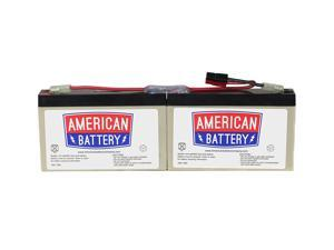 RBC18 UPS Replacement Battery  for APC By American Battery
