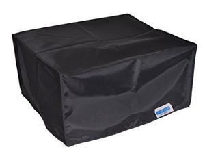 Comp Bind Technology Printer Dust Cover for Epson Expression ET-3700 Eco Tank All-in-One Printer, Black Nylon Anti-Static Dust Cover By Comp Bind Technology Size 14.8''W x 13.7''D x 7.4''H''