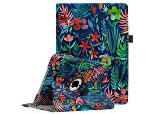 """Fintie iPad 9.7 inch 2018 2017 / iPad Air Case - 360 Degree Rotating Stand Protective Cover with Auto Sleep Wake for Apple iPad 9.7"""" (6th Gen, 5th Gen) / iPad Air 2013 Model, Jungle Night"""