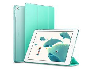 ESR iPad Air 2 Case, Smart Case Cover [Synthetic Leather] Translucent Frosted Back Magnetic Cover with Auto Sleep/Wake Function [Light Weight] (Mint Green)