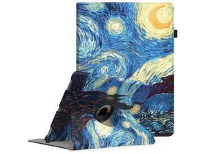 Fintie iPad Pro 12.9 Case - 360 Degree Rotating Stand Case with Smart Protective Cover Auto Sleep/Wake for Apple Pro 12.9 (1st Gen 2015) / iPad Pro 12.9 (2nd Gen 2017), Starry Night