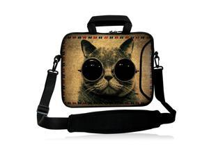 Winnie The Pooh Hug Eeyore Laptop Bag Protective Case Tote Notebook Computer Pocket Case Carrying Zipper Bag 10-17 Inch