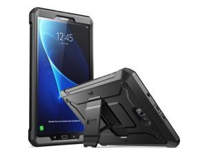 Galaxy Tab A 10.1 Case, SUPCASE [Unicorn Beetle PRO Series] Full-Body Rugged Protective Case with Built-in Screen Protector for Samsung Galaxy Tab A 10.1 inch 2016 (SM-T580/T585) No Pen Version(BLK)