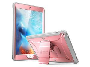 SUPCASE iPad 9.7 Case 2018 / 2017, Heavy Duty [Unicorn Beetle PRO Series] Full-body Rugged Protective Case with Built-in Screen Protector & Dual Layer Design for iPad 9.7 inch 2017 / 2018(RoseGold)