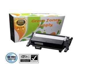 Green Toner Supply (TM) New Compatible [Samsung CLT-K406S] Black LaserJet Toner Cartridges for Samsung CLP-365, CLP-365W, CLX-3305FN, CLX-3305FW, CLX-3305W