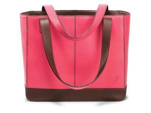 Day-Timer 48420 Leather Tote for 2009, 11-1/2w x 10d x 4h, Pink