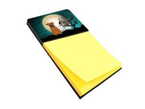 Multicolor Carolines Treasures The Pass Refillable Sticky Note Holder or Postit Note Dispenser 3.25 by 5.5
