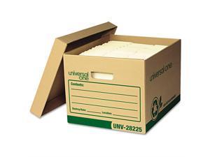 UNV28225 - Universal Recycled Record Storage Box