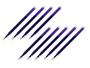 Pilot Gel Ink Refills for FriXion Erasable Gel Ink Pen, Fine Point 0.7mm, Violet Ink, Pack of 9