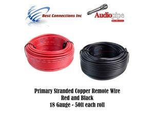 Power and Ground Cable Car Electronics 50 Foot Section of Stinger ...