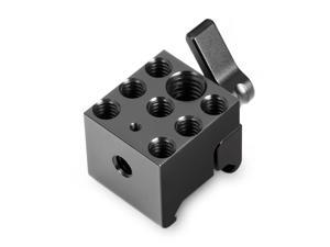 DIY Camera Accessories SMALLRIG Cheese Plate with Multiple Threaded Holes,Cheese Bar for Monitor Mount 1091