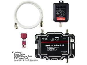 3c8b4df9b1e425 Arris 1-Port Cable, Modem, TV, OTA, HDTV Amplifier Signal Booster