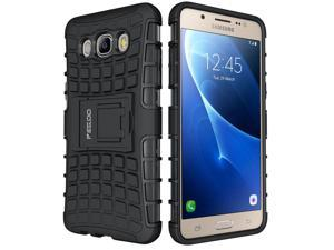 Galaxy J5 2016 Case,Pegoo Shockprooof Impact Resistant Hybrid Heavy Duty Dual Layer Armor Hard