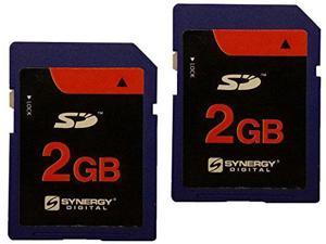 Samsung SC-MX20 Camcorder Memory Card 2 x 2GB Standard Secure Digital (SD) Memory Card (1 Twin Pack)