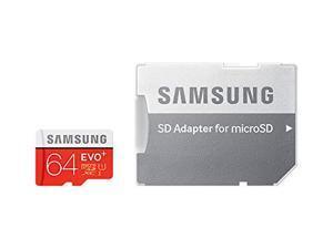 Samsung 64GB EVO Plus Class 10 Micro SDXC with Adapter 80mb/s (MB-MC64DA)