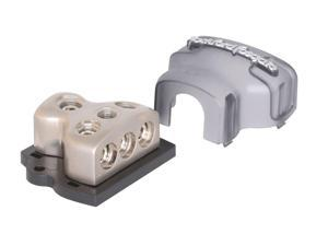 Rockford Fosgate RFD4 1/0 AWG 4 AWG Distribution Block - Platinum