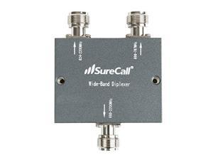 SureCall Wide Band Diplexer Frequency-Selective Distribution Device, N-Female Connectors