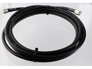 MPD Digital Times-Micro-RG8u-pl259-30ft UHF VHF Coaxial Antenna RF Cable with Silver Teflon PL-259, 30'