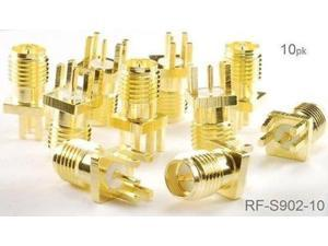 5-PACK BNC Female to SMA Male Plug Coaxial RF Adapter CablesOnline RF-M123-5