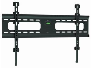 "Ultra-Slim Black Flat/Fixed Wall Mount Bracket for Hisense SMART TV 55K610GW 55"" inch LED HDTV TV/Television - Low Profile"
