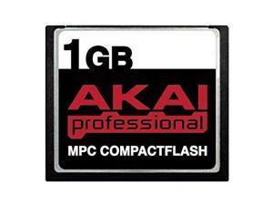 1GB Akai MPC CompactFlash CF Memory Card for MPC500, MPC1000, MPC2500, MPC4000, MPC2000xl, MPC2000 and MPC3000