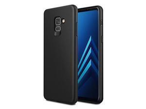 bb3f16c23f97f6 EasyAcc Case for Samsung Galaxy A8 Plus 2018, Thin Slim Soft TPU Protective  Back Cover
