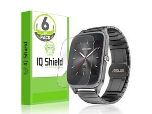 49mm Screen Protector + Back Cover TechSkin Full Coverage Clear HD Film Skinomi Full Body Skin Protector Compatible with Asus Zenwatch 2