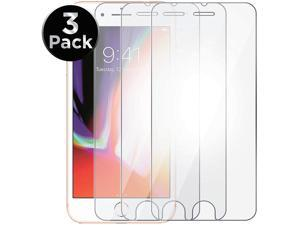Aduro Screen Protector for iPhone 8 Plus/7 Plus/6 Plus/6s Plus 5.5-inch, Tempered Glass Shatter Proof Film, 3-Pack