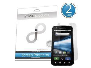 Infinite Products Quasar Screen Protection Film for Motorola Atrix - 2 Pack - Retail Packaging - Diamond