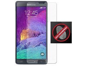 Dream Wireless Anti-Glare Fingerprint Screen Protector Scratch Saver for Samsung Galaxy Note 4 - Retail Packaging - Clear