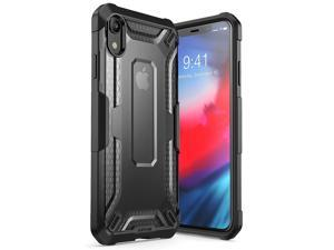 iPhone XR Case, SUPCASE [Unicorn Beetle Series] Premium Hybrid Protective TPU and PC Clear Case for iPhone XR 6.1 Inch 2018 Release (Black)