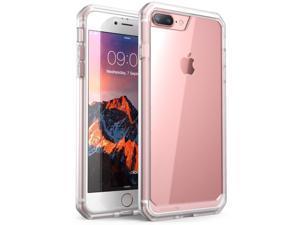 SUPCASE iPhone 7 Plus Case, iPhone 8 Plus Case, Unicorn Beetle Series Premium Hybrid Protective Frost Clear Case for Apple iPhone 7 Plus 2016 / iPhone 8 Plus 2017 (Clear)