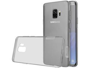 Galaxy S9 Case, Nillkin Nature Series Clear Soft TPU Case Back Cover [Ultra Thin] [Slim Fit] for Samsung Galaxy S9 - Grey