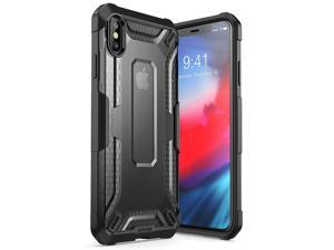 iPhone Xs Max Case, SUPCASE [Unicorn Beetle Series] Premium Hybrid Protective TPU and PC Clear Case for iPhone Xs Max Case 6.5 Inch 2018 Release (Black)