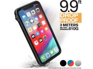 iPhone Xs Max Case Impact Protection by Catalyst, Military Grade Drop and Shock Proof Premium Material Quality, Slim Design, Stealth Black