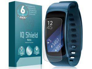 Screen Protector and Anti-Bubble Film Full Coverage IQ Shield Matte Full Body Skin Compatible with Garmin Vivoactive HR Anti-Glare
