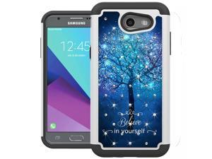 For Samsung Galaxy J3 Emerge Case, J3 2017 Case, J3 Prime Case, Amp