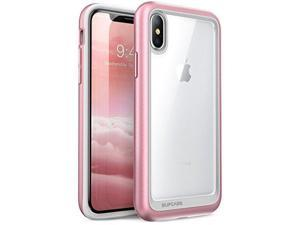 SUPCASE iPhone X, iPhone Xs Case, [Unicorn Beetle Style] Premium Hybrid Protective Clear Case for Apple iPhone X 2017/ iPhone Xs 2018 Release (Rosegold)