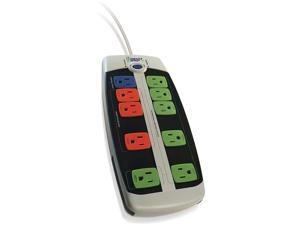 Bits Limited LCG-3MVR Smart Strip Advanced Power Strip, 10-Outlets, Surge Protector, 15A, 4ft. Cable, Pack of 1