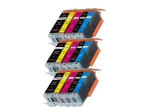 New 15PK Combo Printer Ink chipped for Canon 250 251 MG6600 MG6622 MX920 MX922 Popular Products