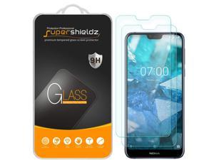 [2-Pack] Supershieldz for Nokia 7.1 Tempered Glass Screen Protector, Anti-Scratch, Bubble Free, Lifetime Replacement